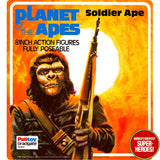 "Planet of the Apes: Soldier Ape Palitoy Repro Blister Card For 8"" Figure"