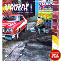 "Starsky & Hutch: Starsky Mego Repro 2.0 Blister Card For 8"" Action Figure"