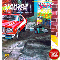 "Starsky & Hutch: Starsky Mego Repro V1.0 Blister Card For 8"" Action Figure"