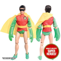 "Robin Complete Mego WGSH Repro Outfit For 8"" Action Figure - Worlds Greatest Superheroes"