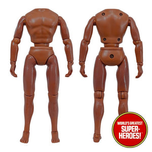 "Type S Male African Brown Bandless Body 8"" Action Figure"