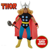 "Thor Comic Version Custom Mego World's Greatest Superheroes 8"" Action Figure - Worlds Greatest Superheroes"