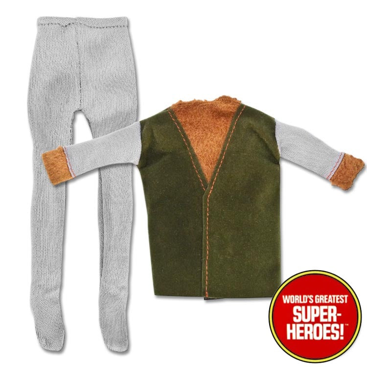 "Mad Monsters: Wolfman Outfit Mego Reproduction for 8"" Action Figure - Worlds Greatest Superheroes"