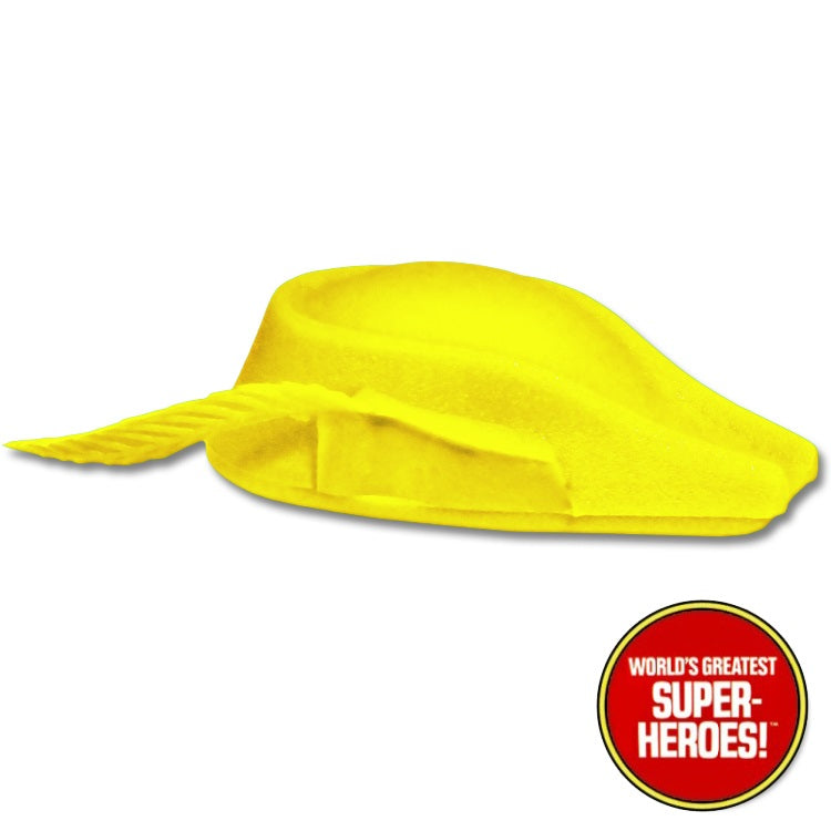 "Speedy Yellow Hat Mego World's Greatest Superheroes Repro for 7"" Action Figure - Worlds Greatest Superheroes"