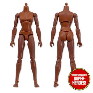 "Type S Bandless Female Brown African Body 8"" Action Figure"