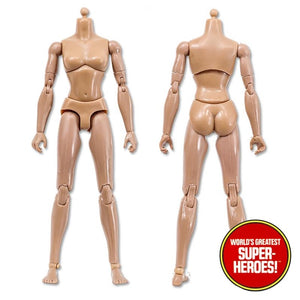 "Type S Bandless Female Flesh Tone Body 8"" Action Figure"
