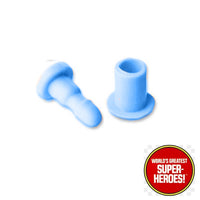 "Andorian/Keeper Mego Knee Pin Replacement Set for 8"" Action Figure - Worlds Greatest Superheroes"
