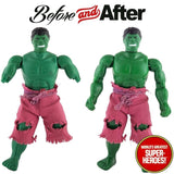 "Hulk Mego Body Reproduction for World's Greatest Superheroes 8"" Action Figure - Worlds Greatest Superheroes"