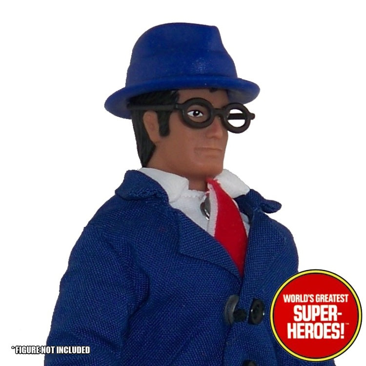"Clark Kent Custom Hat Mego World's Greatest Superheroes for 8"" Action Figure - Worlds Greatest Superheroes"