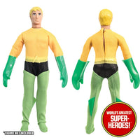 "Aquaman Complete Mego Repro Outfit For 8"" Action Figure - Worlds Greatest Superheroes"