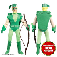 "Green Arrow Complete Mego Repro Outfit For 8"" Action Figure - Worlds Greatest Superheroes"