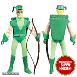 "Green Arrow Complete Mego WGSH Repro Outfit For 8"" Action Figure - Worlds Greatest Superheroes"