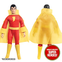 "Shazam Complete Mego Repro Outfit For 8"" Action Figure - Worlds Greatest Superheroes"
