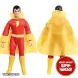 "Shazam Complete Mego WGSH Repro Outfit For 8"" Action Figure - Worlds Greatest Superheroes"