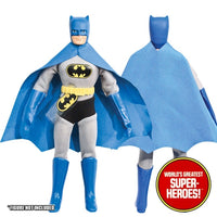"Batman Complete Mego Repro Outfit For 8"" Action Figure - Worlds Greatest Superheroes"