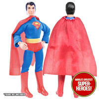 "Superman Complete Mego Repro Outfit For 8"" Action Figure - Worlds Greatest Superheroes"