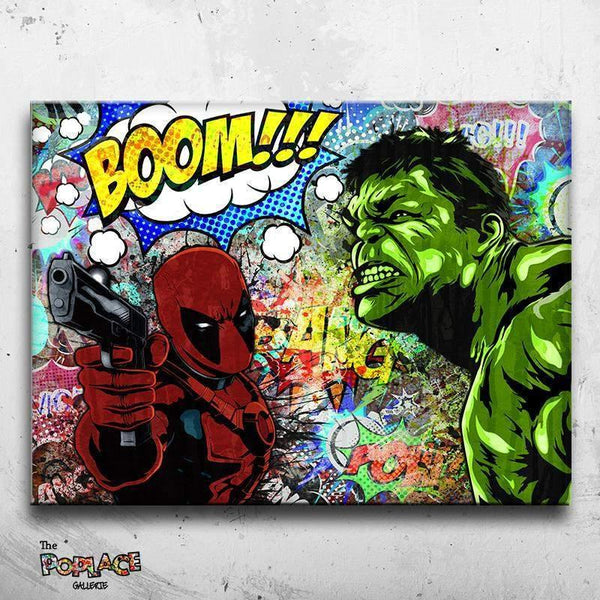 HULK FEAT DEADPOOL thepoplace