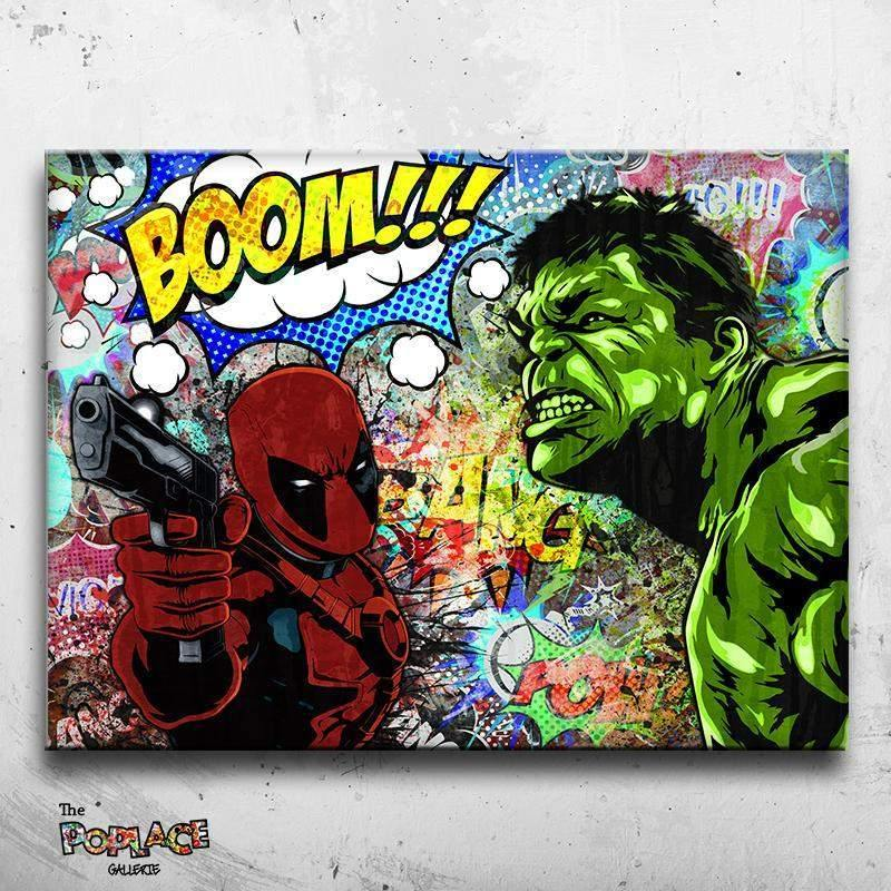 Tableau HULK FEAT DEADPOOL