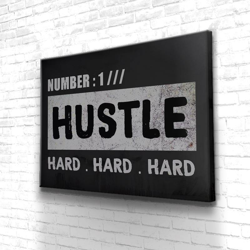 Tableau Motivation Hustle Hard
