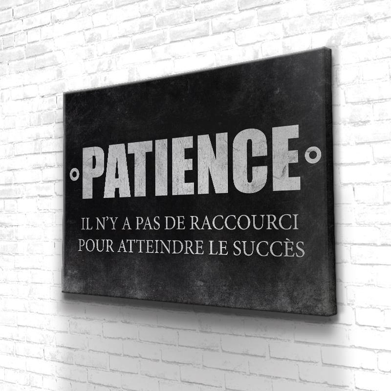 Tableau Motivation Patience Succès
