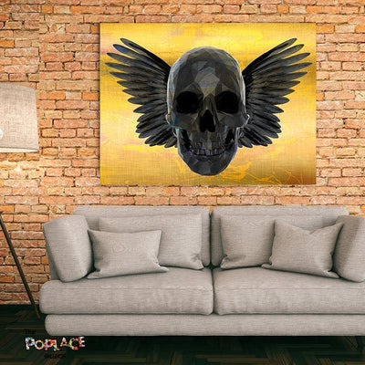 Tableau GOLD SKULL thepoplace