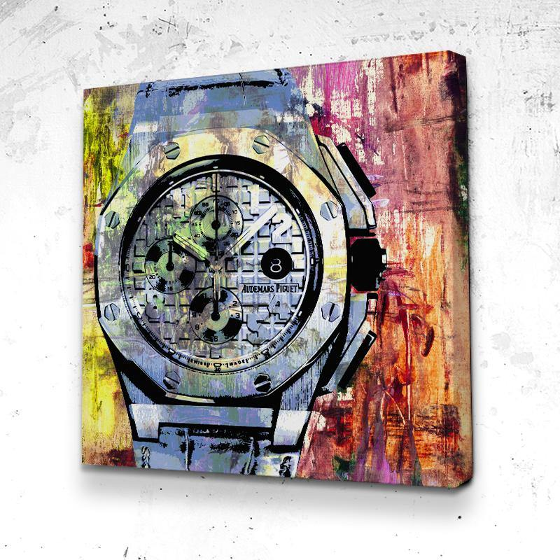 Tableau Audemars Piguet Abstract