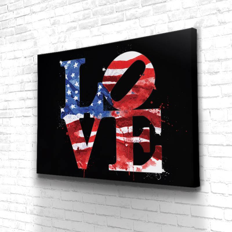 Tableau Love Usa