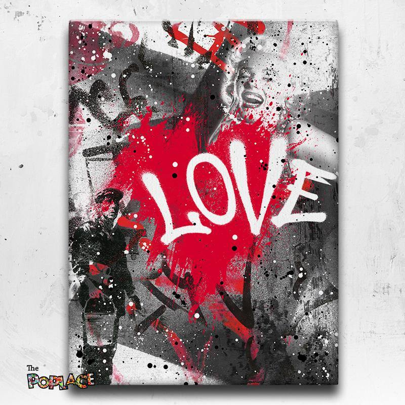Tableau Marilyn Abstract Love