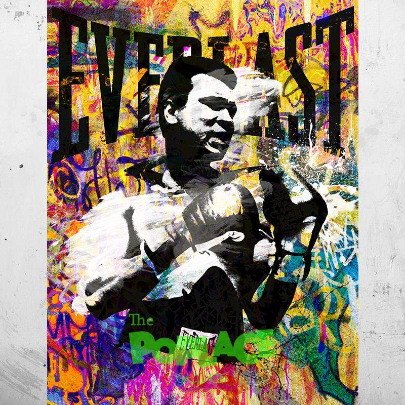 Tableau Mohamed Ali Street Everlast