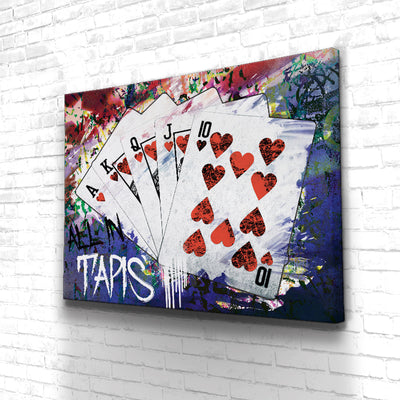 Tableau Poker All In Tapis