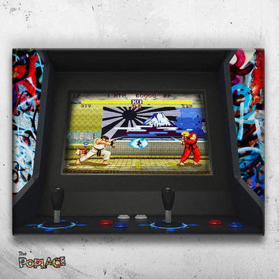 Tableau FIGHT ARCADE