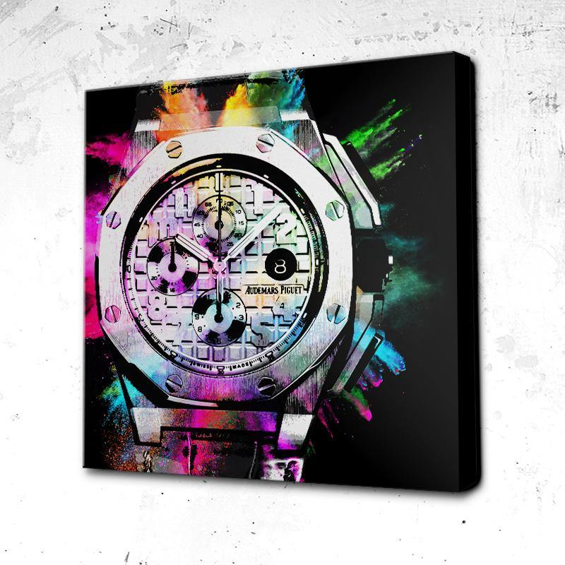 Tableau Black Audemars Color Splash