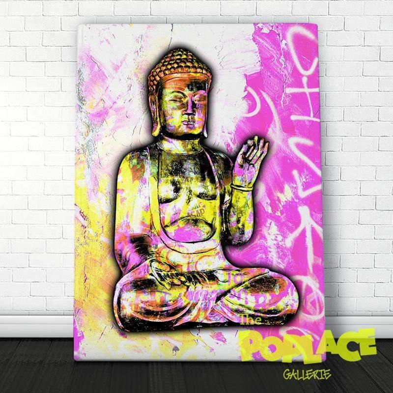 Tableau Budha Pink Face