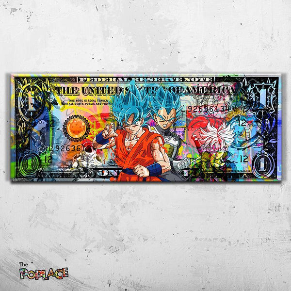 Tableau DRAGON BALL DOLLAR