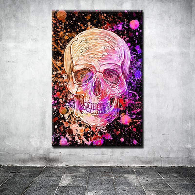 Tableau DIRTY RED SKULL