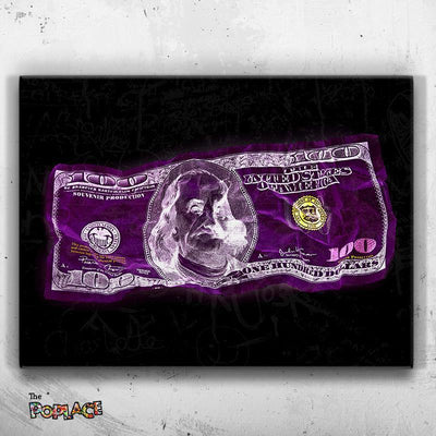 Tableau PURPLE DOLLAR MONEY