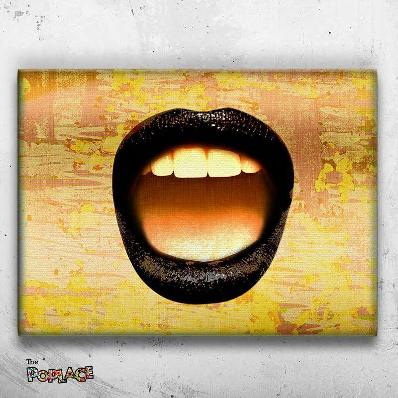 Tableau Gold Mouth