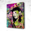 Tableau Tatoo Girl Neon Street