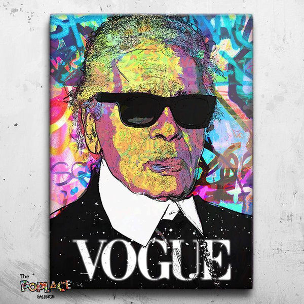 Tableau KARL LAGERFELD FASHION thepoplace