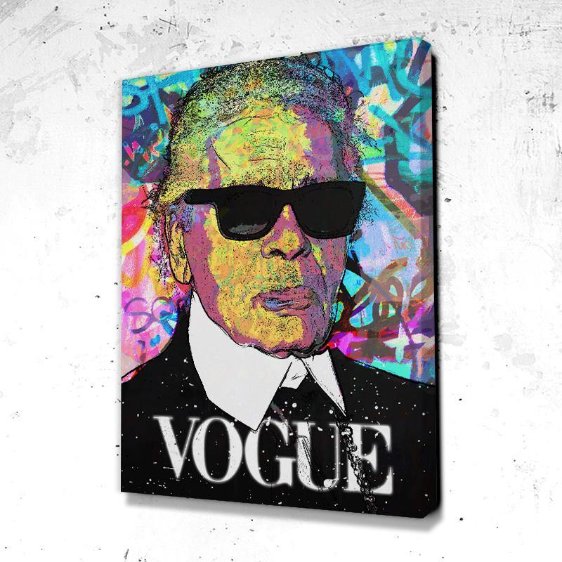 Tableau Karl Lagerfeld Fashion