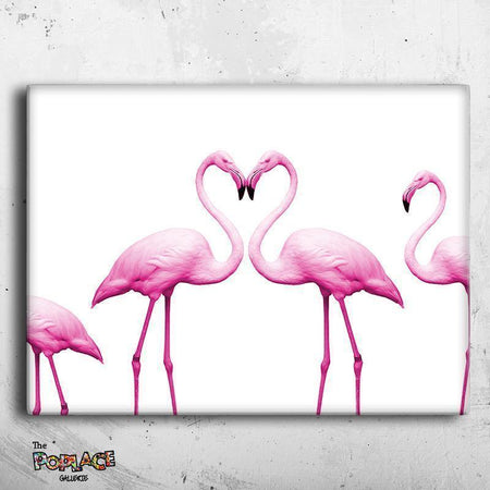 Tableau FLAMANT ROSE thepoplace