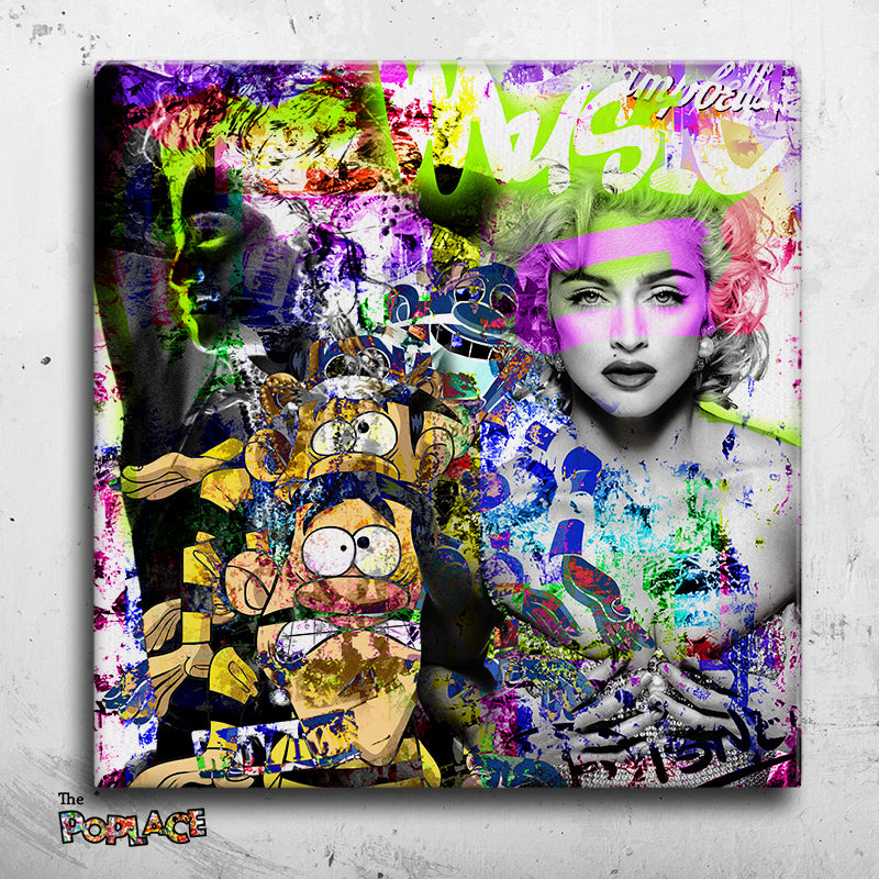 Tableau Madonna Music Color
