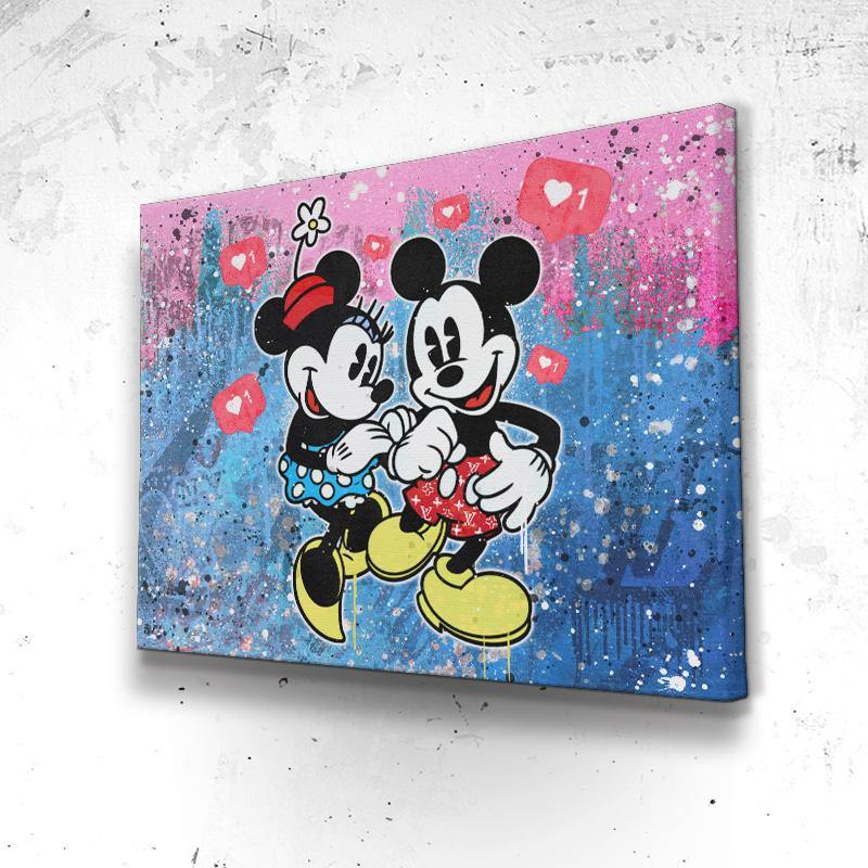 Tableau Mickey Minnie Insta