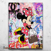 Tableau MINNIE SHOPPING
