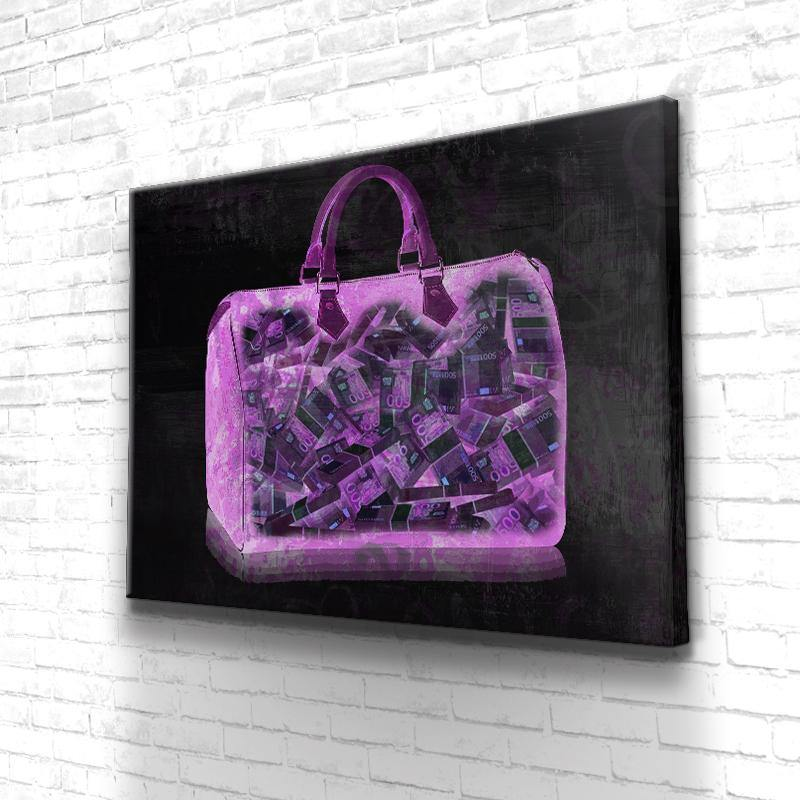 Tableau Pink Money Bag