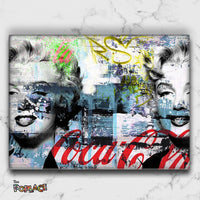 Tableau MARILYN MONROE ABSTRACT