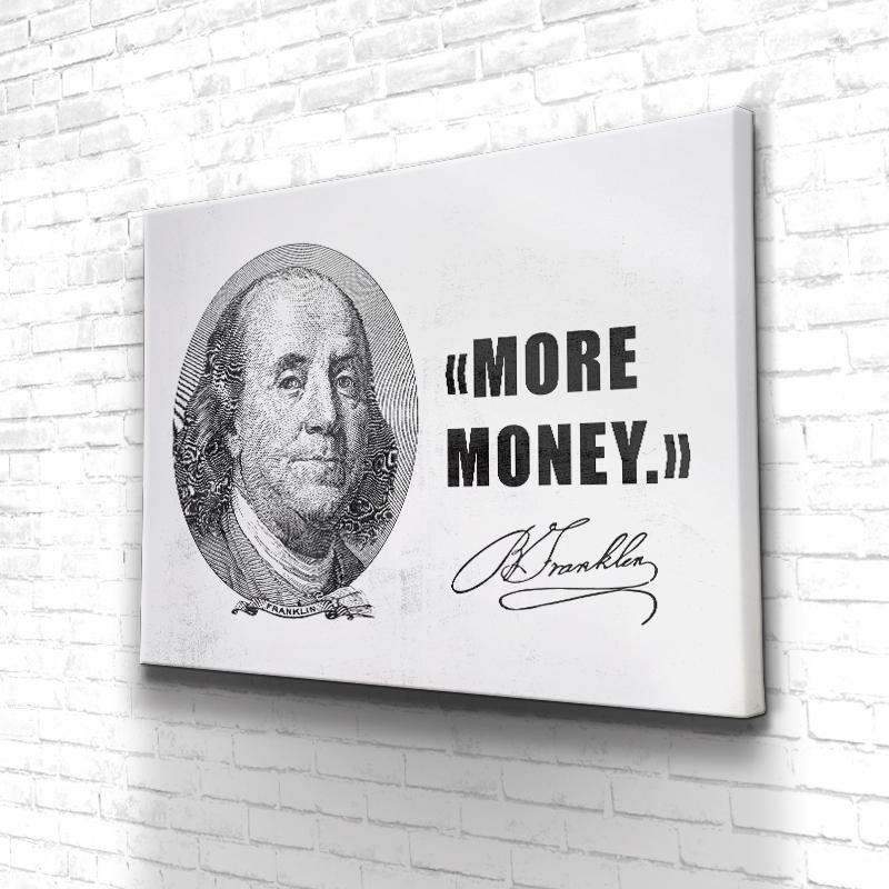 Tableau More Money Benjamin Franklin