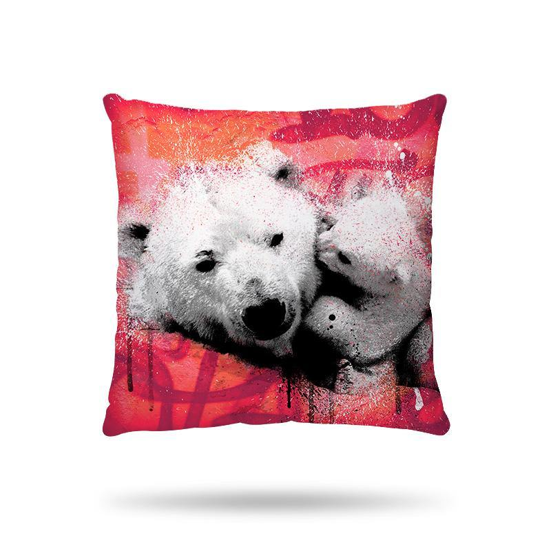Coussin Ours polaires