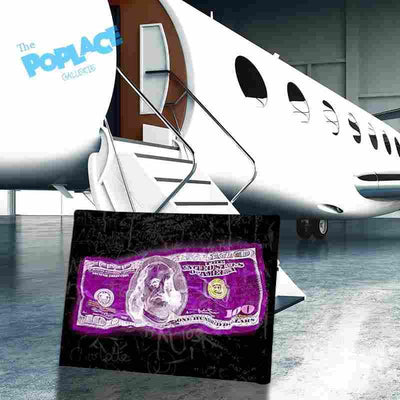 PURPLE DOLLAR MONEY thepoplace