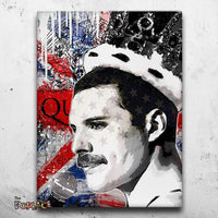 Tableau FREDDIE MERCURY QUEEN UK